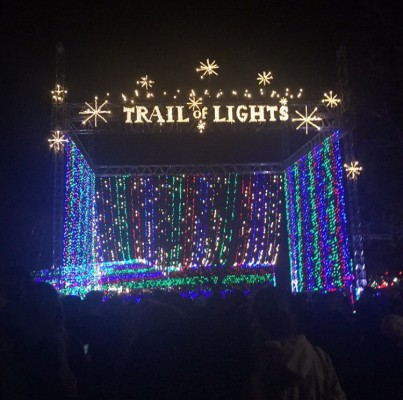 Austin Trail of Lights 2015 at Zilker Park. Definitely a must-do holiday event in Austin for all ages.